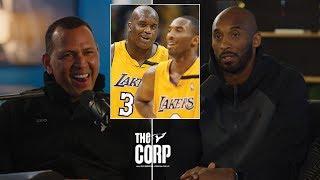 Kobe Bryant Tells Alex Rodriguez How Shaq Ruined His 40 Point Streak