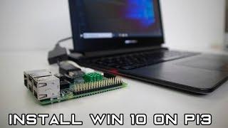 How to install Windows 10 WoA (not iot) on raspberry pi 3