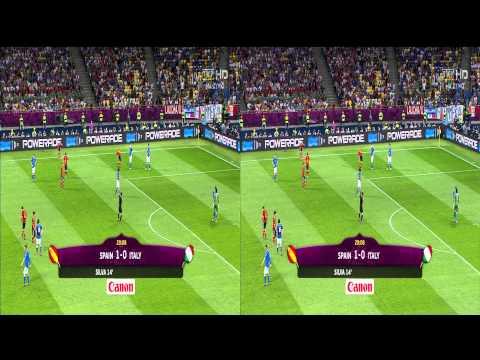 Euro 2012 Espana : Italy 3D
