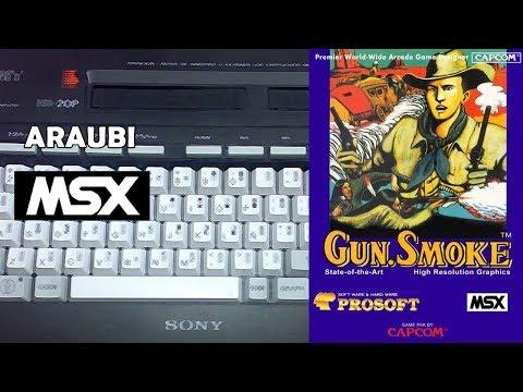 Gun Smoke (Prosoft, 1990) MSX [563] Walkthrough Comentado