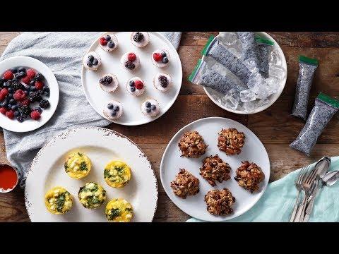 Healthy To-Go Breakfasts