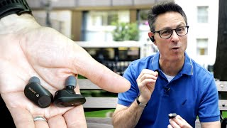 Sony's newest truly wireless earbuds just sound great..
