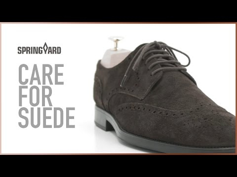Care For Suede
