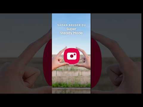 Galaxy Note10: Sådan bruger du Super Steady Mode