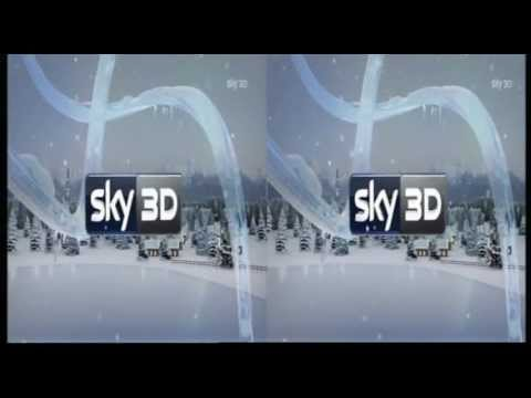 Sky 3D Italy - Christmas Ident 1 (2011) (720p) King Of TV Sat