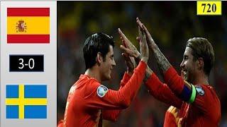 Tây Ban Nha vs Thụy Điển| 3-0. Chiến thắng nhẹ nhàng của nhà vua