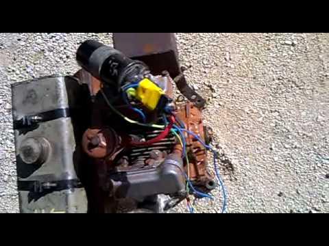 Reglage moteur w112