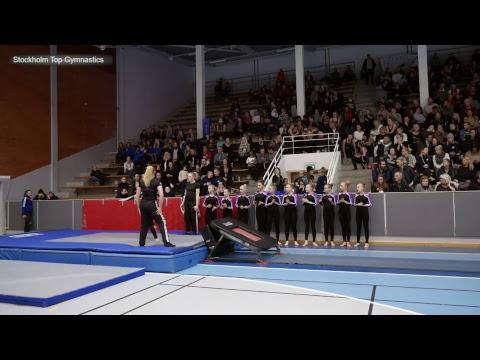 Rikstrean HT 2018 - damer 13-16 pool 2