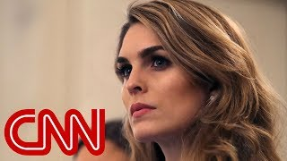Hope Hicks to cooperate with Dems' Trump probe