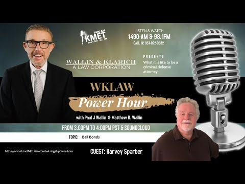 WK Law Power Hour | What is it like to be a criminal defense attorney? What does a bail bondsman do?