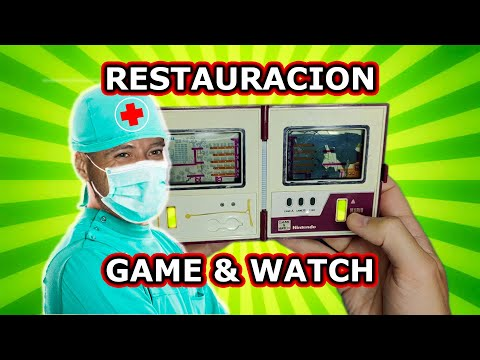 REPARACION PANTALLA GAME AND WATCH MARIO BROS