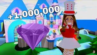 Testing out a MILLION DIAMOND GLITCH! //Roblox Royale High