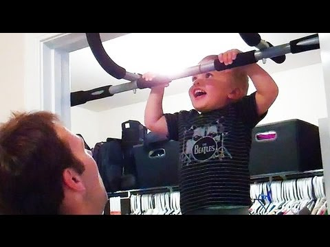 STRONGEST BABY IN THE WORLD! - YouTube