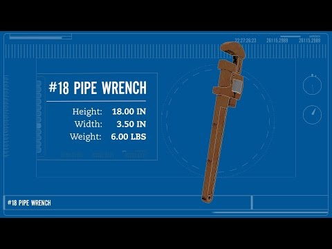 The Dropped Objects Experiment | 6 LB Wrench, 20' vs. 30' | Safety Week 2016