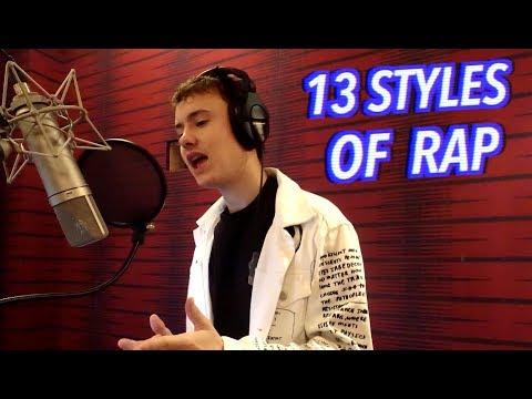 13 Styles of Rapping! (ft. Juice Wrld, Tyler the Creator, YBN Nahmir)