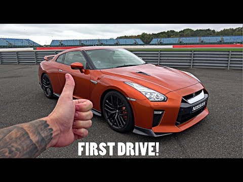 My FIRST EVER Drive in a Nissan R35 GT-R!! - Luxury Cars