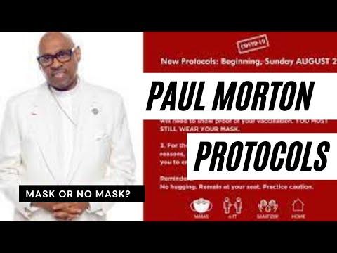 8.31.21 Bishop Paul Morton PROTOCOLS for in person worship vs Brian Carn
