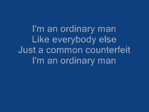 Breaking Benjamin Ordinary Man With Lyrics