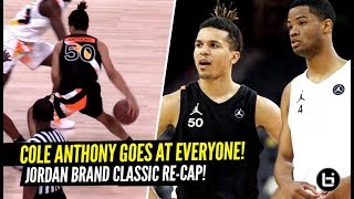 Cole Anthony GOES AT EVERYONE At The Jordan Brand Classic Game!!