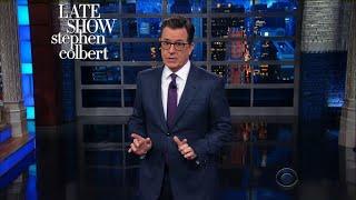 Stephen Grades Trump's Improvised 'Fire And Fury' Threat
