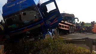 Vụ tai nạn giao thông nghiêm trọng trên tuyến cao tốc TP. Hồ Chí Minh - Long Thành - Dầu Giây