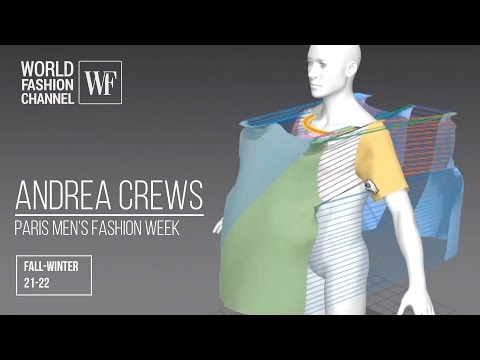 Andrea Crews fall-winter 21-22 | Paris men's fashion week
