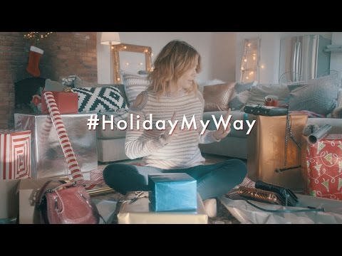 Holiday My Way Chapter 2: Wrapping | Rebecca Minkoff Campaign 2016 | Starring Arielle Vandenberg