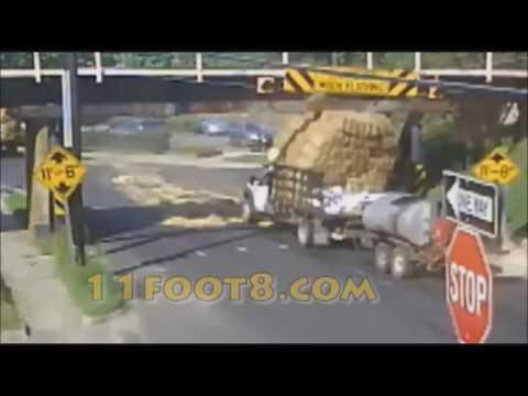 Колекција: Камиони се судираат со мостови