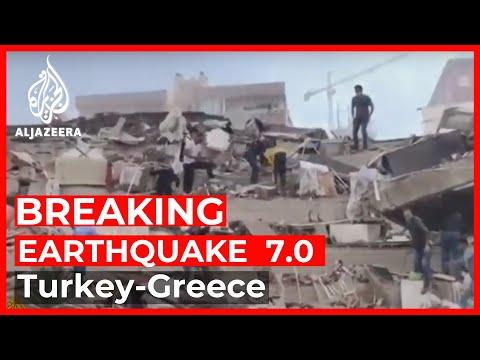 Breaking News: Earthquake of magnitude 7.0 hits western Turkey, Greece