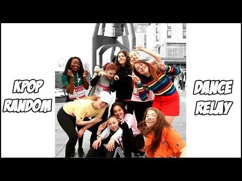 [In Public] Kpop Random Dance Relay Challenge | London【Xina x New Vision】