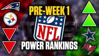 The Official 2020 NFL Power Rankings (Pre-Week 1 Edition) || TPS