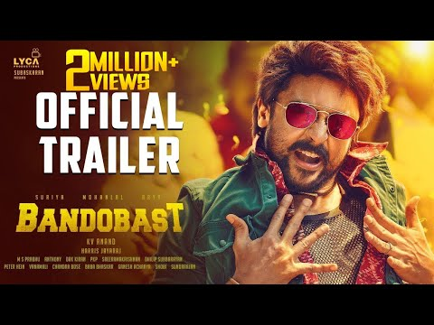 Bandobast - Official Trailer