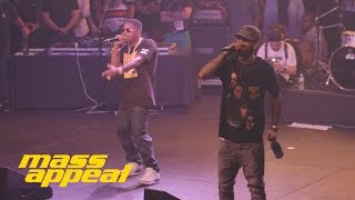 Dave East feat. Nas Forbes List (Live at Mass Appeal BBQ SXSW)