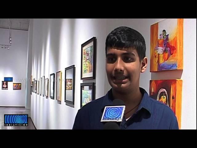 Painting Exhibition of Sankar Dinesh Kammath