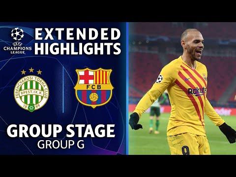 Ferencvároi vs. Barcelona: Extended Highlights | UCL on CBS Sports