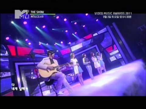 110902 MTV The Show Sunny Hill - Pray