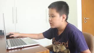 Học tiếng Anh trên Edupia cùng bé  Cảnh Khôi (10 tuổi)