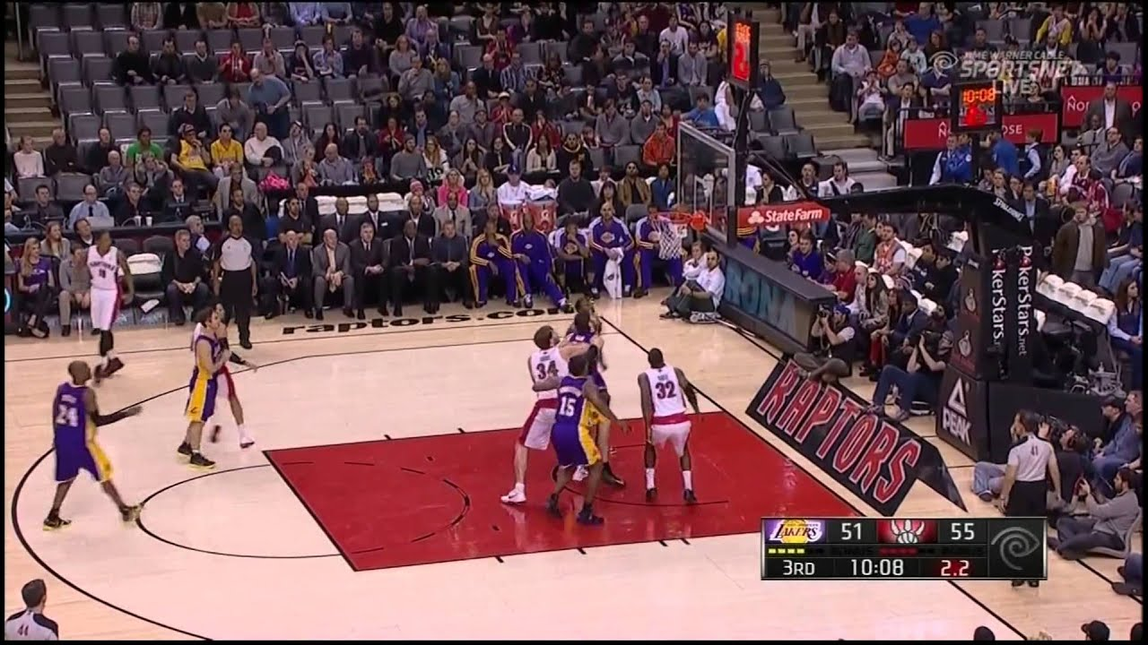 Lakers Vs Raptors Detail: Lakers Vs Raptors Highlights(1.20.2013)