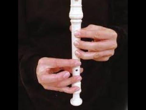 Como tocar Un elefante se balanceaba. Flauta facil para principiantes