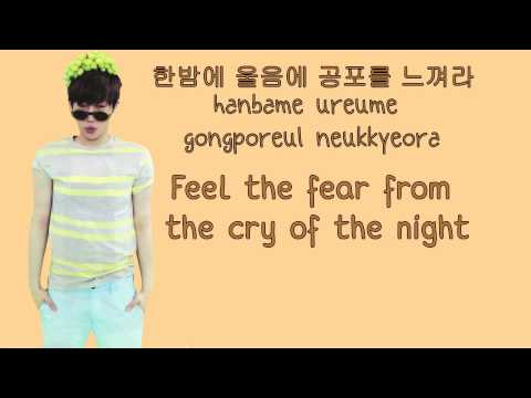 INFINITE (인피니트) - Monster Time [Colour coded Hangul/Rom/Eng Lyrics]