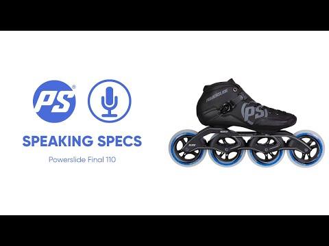 Video POWERSLIDE Roller vitesse FINAL 110
