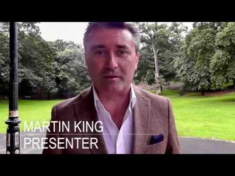 Broadcaster Martin King: register your charity tea party