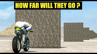 HOW FAR WILL IT GO? #7 - BeamNG Drive Crashes