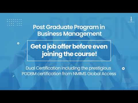 Imarticus Learning -  Post Graduate Program in Business Management