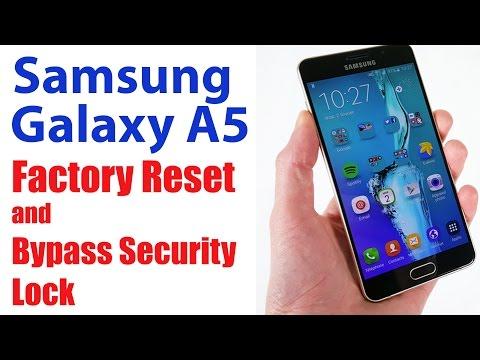 Unlock Samsung Galaxy: Factory Reset