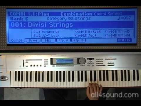 Synthesizer Clinic chapter 4 Strings - B1 Ensemble [국제미디]