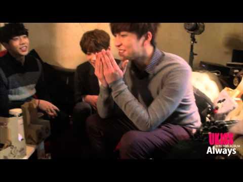 U-KISS(유키스) - 누가그래(Who was it) Mini Album 'Always' 메이킹영상
