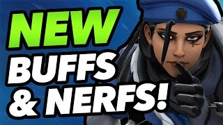 8 HUGE CHANGES Coming to Overwatch - Ana Nerfs, Sombra Buffs & More!