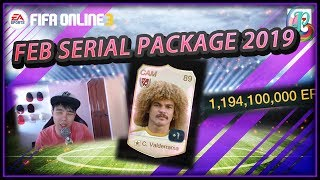 ~Really Bad Serial Package~ Feb Serial Package Opening 2019 - FIFA ONLINE 3