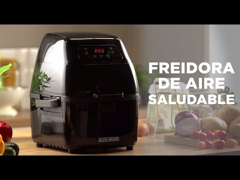 video Freidora de Aire Saludable Black & Decker BD HFD2000B